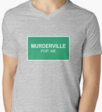 Murderville Mens V-Neck T-Shirt