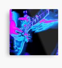 Blues Guitar Metal Print