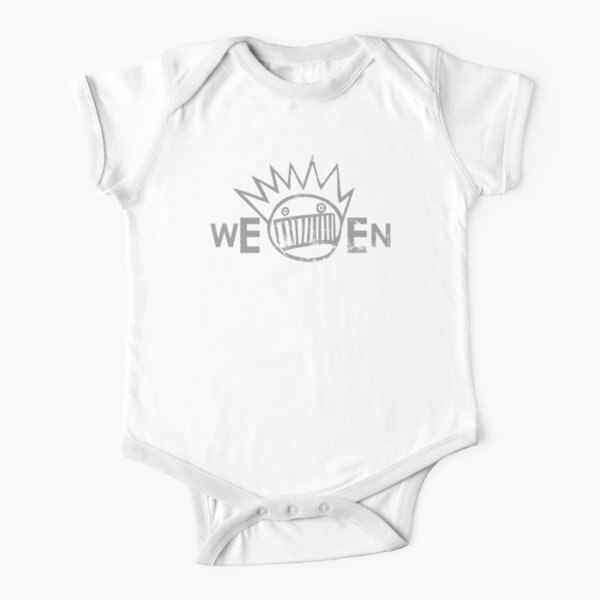 Ween (distressed design) Short Sleeve Baby One-Piece
