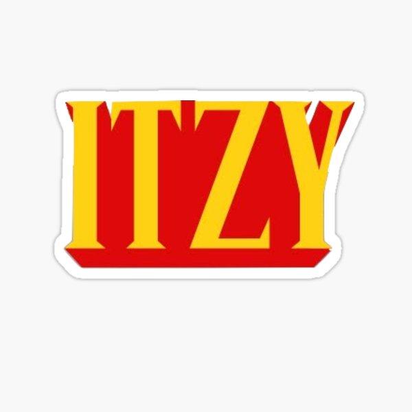 Logotipo de Itzy Not Shy Pegatina