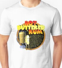 Hot Buttered Rum adult drink recipe by Valxart  Unisex T-Shirt