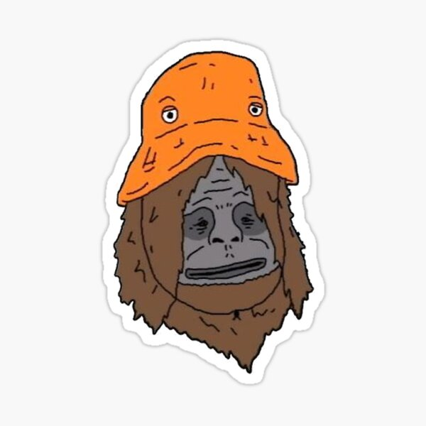 Sassy the Sasquatch Sticker