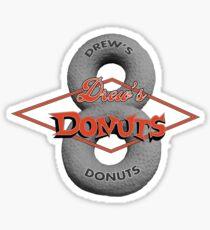 Drew's Donuts 2 Sticker