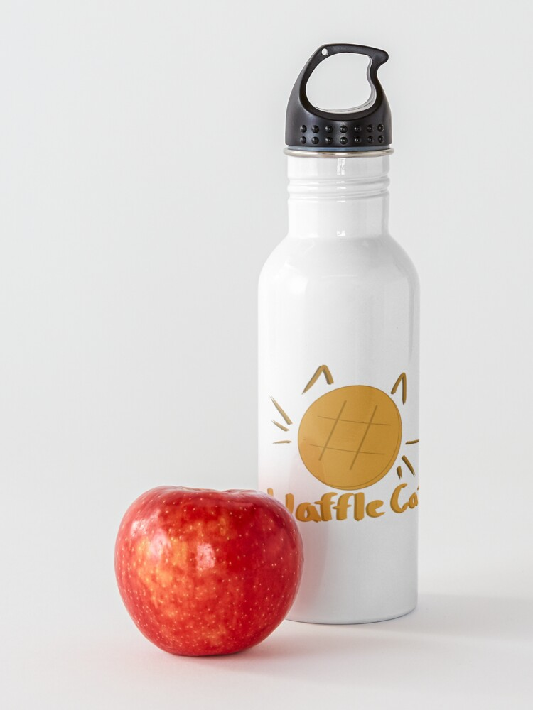 Alternate view of Waffle Cat Water Bottle