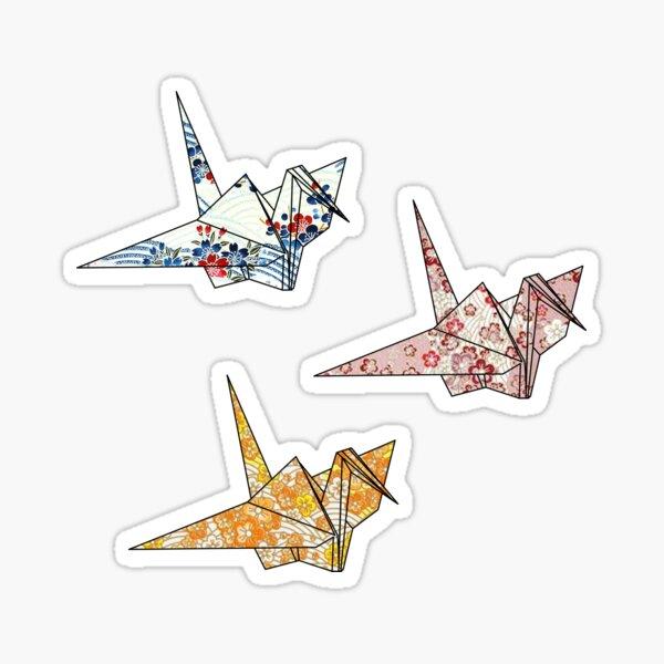 Little Origami Cranes Sticker Pack Sticker