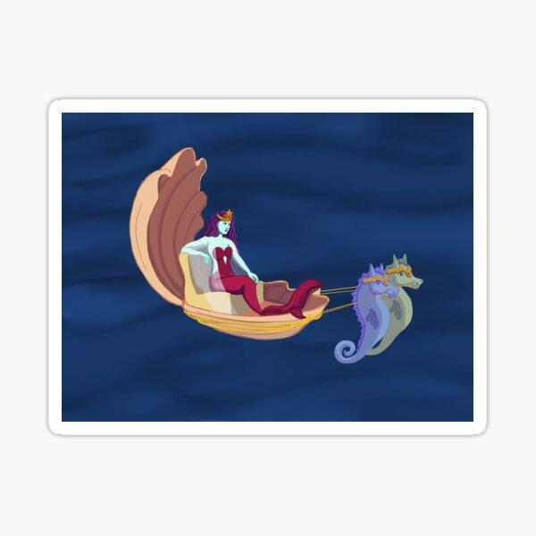 Mermaid Queen Sticker