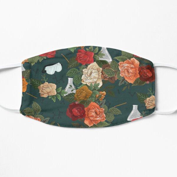 Chemistry Floral Flat Mask