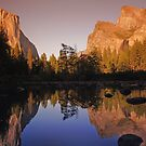 Mountain reflections by Mark scott