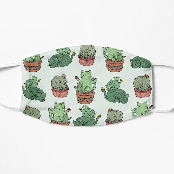 Cactus Cats Flat Mask