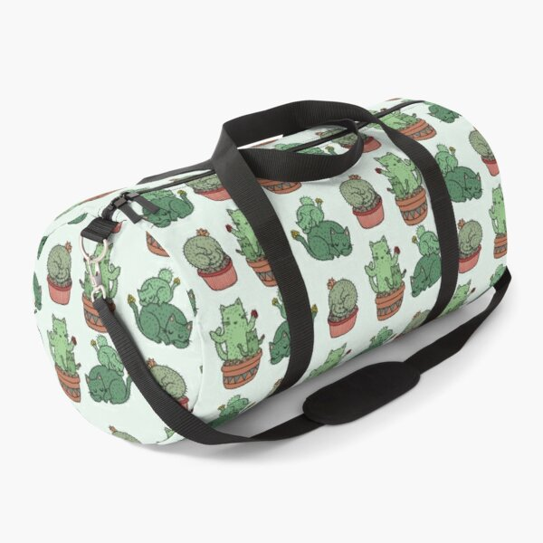 Cactus Cats Duffle Bag