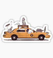 1-800-TAXI-DERMY Sticker