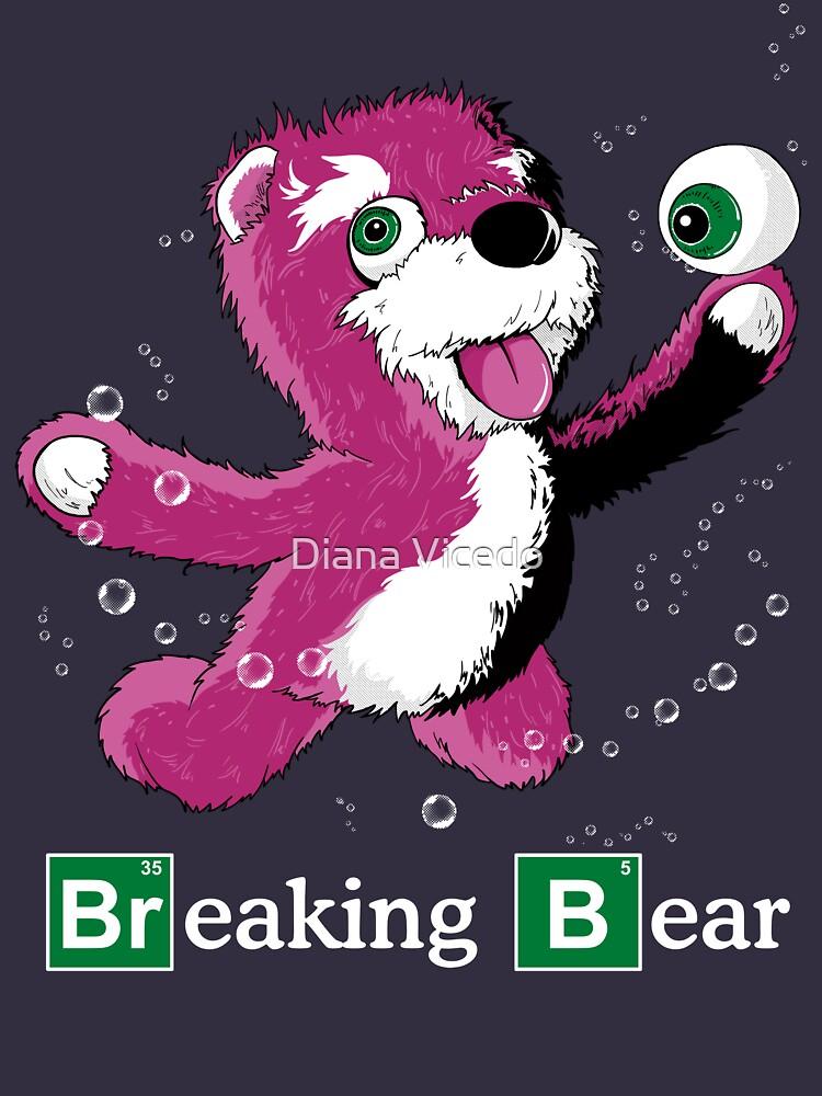 Breaking Bear Text | Unisex T-Shirt