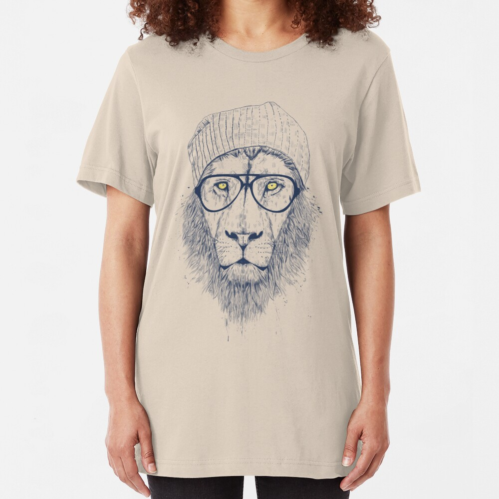 Cool lion Slim Fit T-Shirt