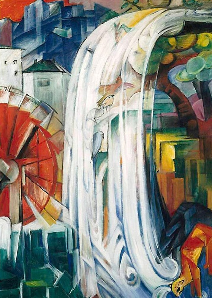 Franz Marc – The Bewitched Mill by William Martin