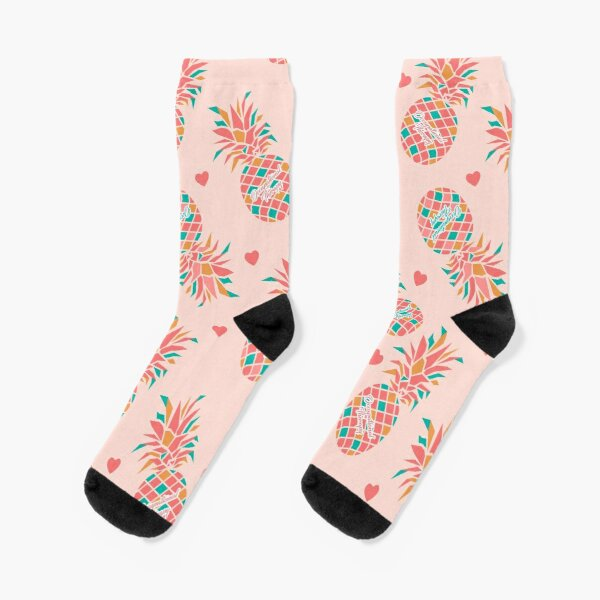 Pineapple OT Love Occupational Therapy Socks
