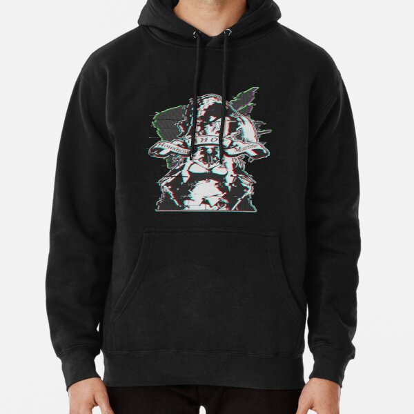 Glitched Marine-Ahoy! Hololive (ORIGINAL) Pullover Hoodie