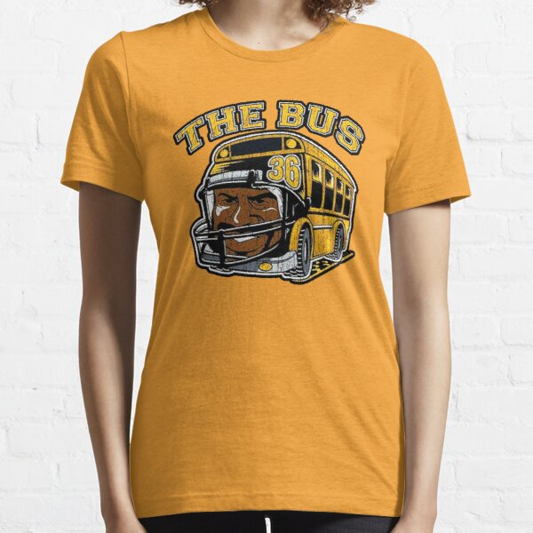 THE BUS PITTSBURGH YELLOW AND BLACK JEROME BETTIS VINTAGE SHIRT Essential T-Shirt