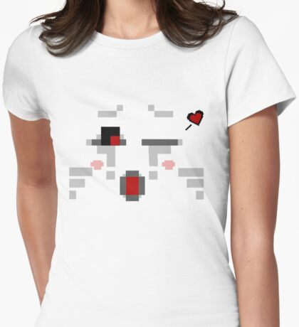 Ghast Womens Fitted T-Shirt