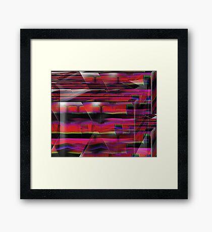 Bricks Framed Print