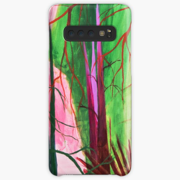 Divided, Trees, Colors, Leaves, Nature Samsung Galaxy Snap Case
