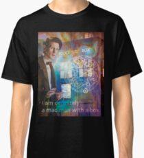 11th Doctor Who Matt Smith Classic T-Shirt