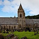 St. David's Church, Pantasaph  by Selina Ryles