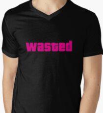 wasted Men's V-Neck T-Shirt