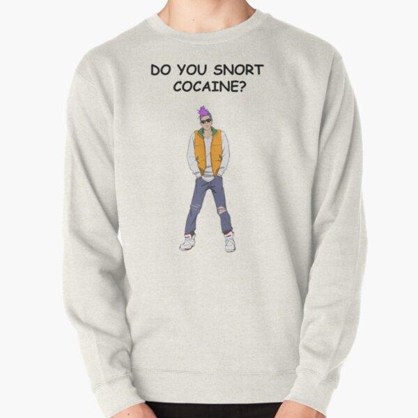 anime.cool.facts ¿Resoplas cocaína? Sudadera sin capucha