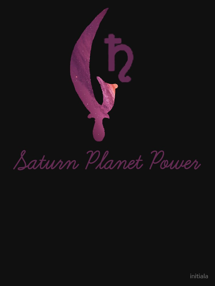 Planet Power -- Saturn by initiala