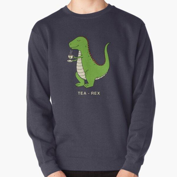 Tea Rex Pullover Sweatshirt