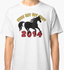 Happy Chinese New Year 2014 T-Shirts Gifts Classic T-Shirt
