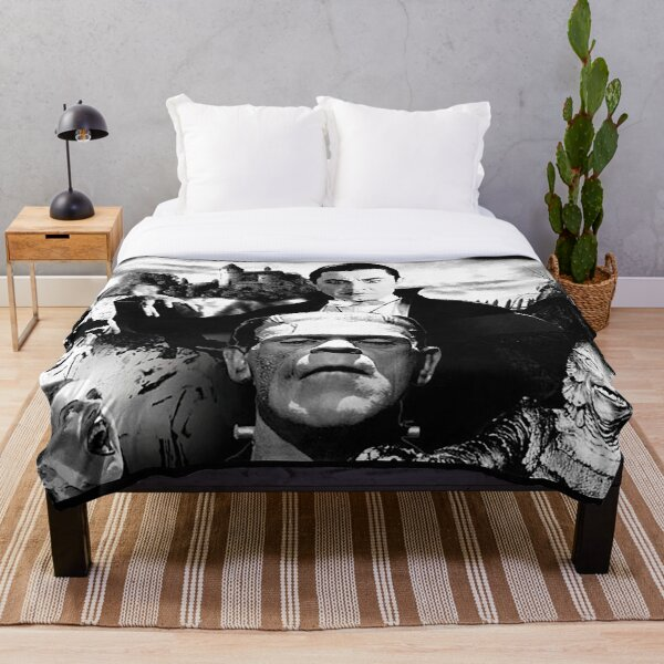 Universal Classic Monsters Throw Blanket