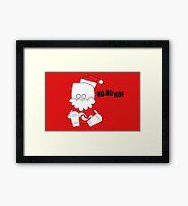 Ho Ho Ho! Framed Print