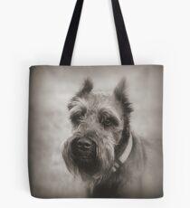 Bearded Dog Tote Bag
