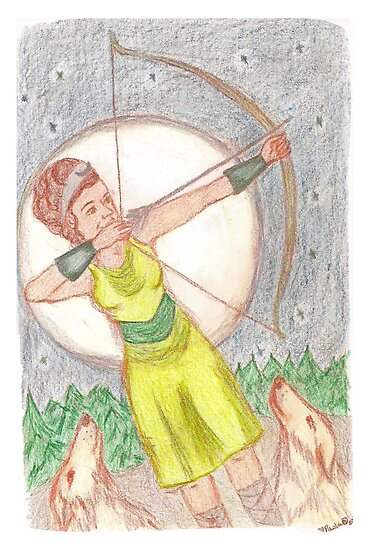 Goddess - Artemis by GoddessSpiral
