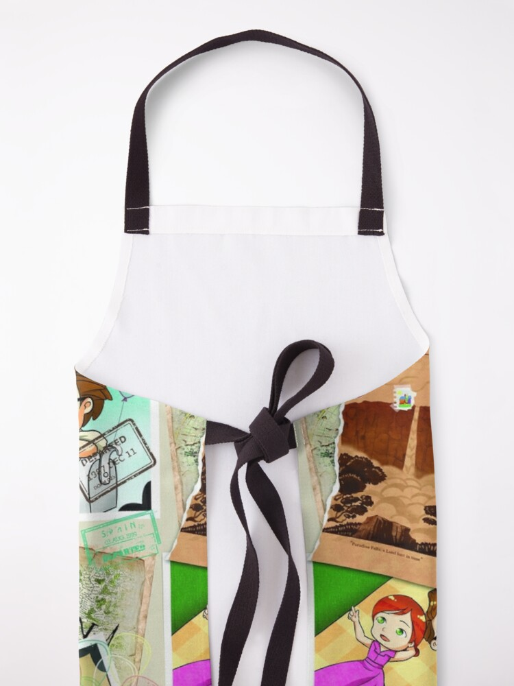 Alternate view of Carl and Ellie UP! Apron