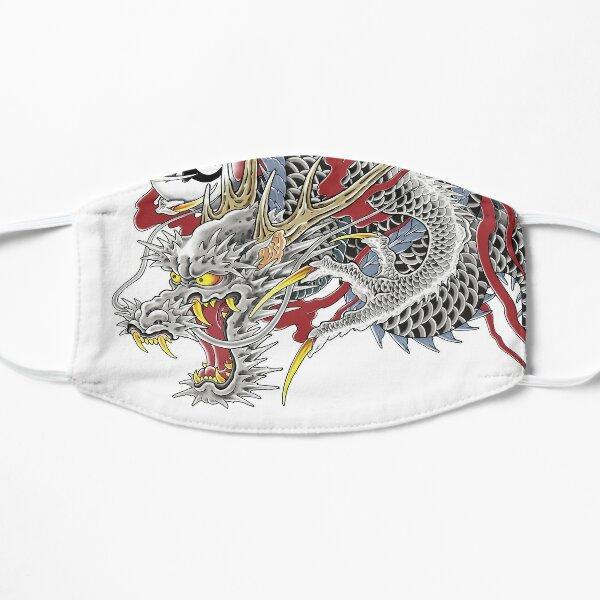Kazuma Kiryu Dragon Tattoo horizontal Flat Mask