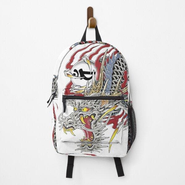 Kazuma Kiryu Dragon Tattoo horizontal Backpack