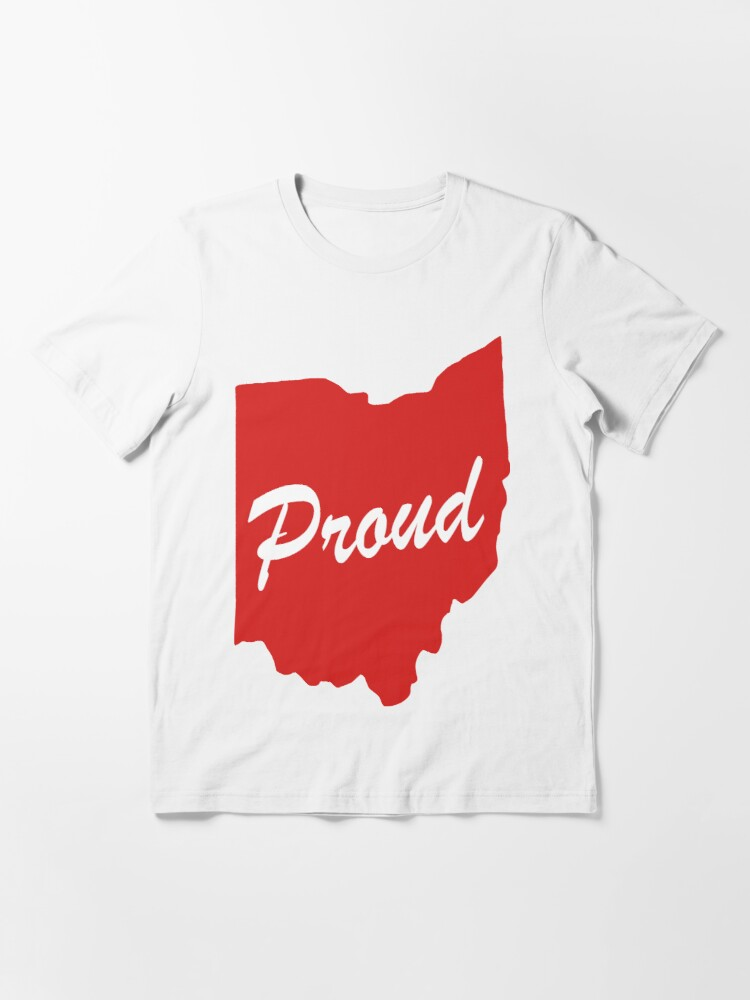 Alternate view of Ohio Proud Logo Essential T-Shirt