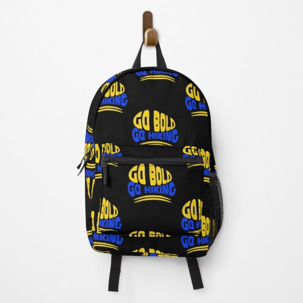 Go Bald Go Hiking Design Backpack