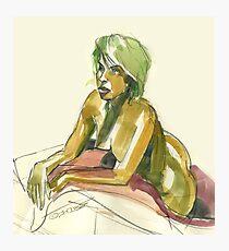 Green Blond Photographic Print