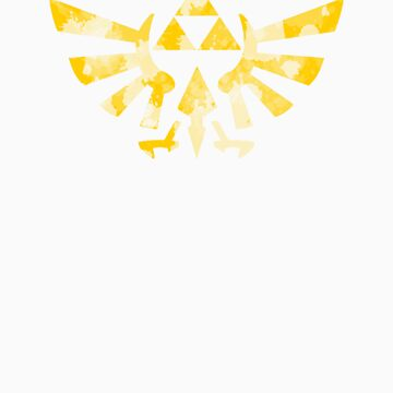 Triforce Splatter by mountainsmithy