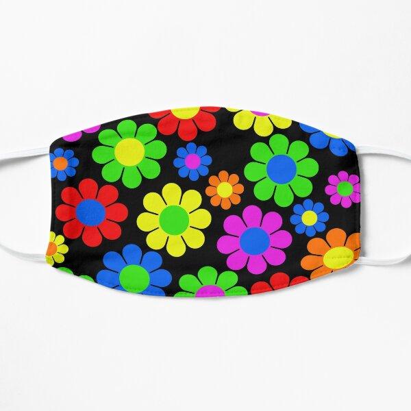 Hippy Flower Daisy Spring Pattern Flat Mask