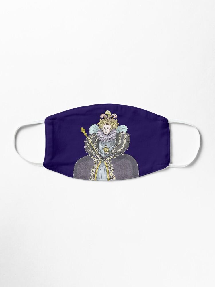 Alternate view of Queen Elizabeth I Mask