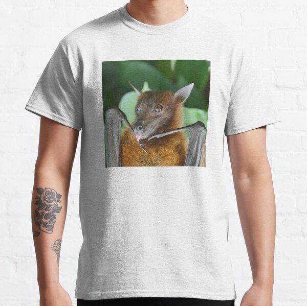 Batzilla - Cute Australian Rescue Bat Sticking His Tongue Out Classic T-Shirt