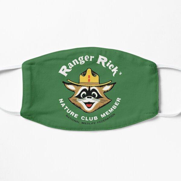 Ranger Rick's Nature Club Vintage Member Badge Flat Mask