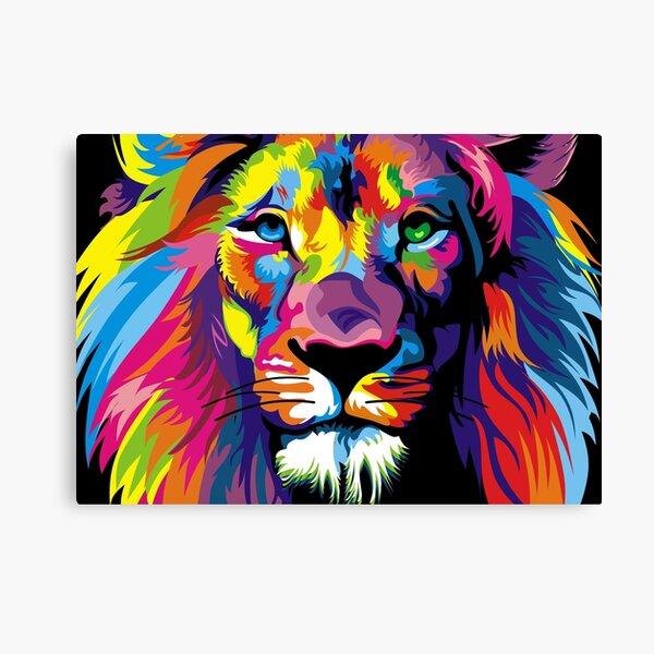 lion cute animals Canvas Print