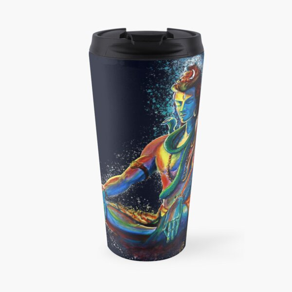 Shiva in deep Meditation  Travel Mug
