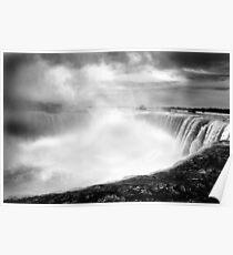 Niagara Falls and River Poster