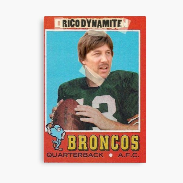 Uncle Rico trading card Canvas Print